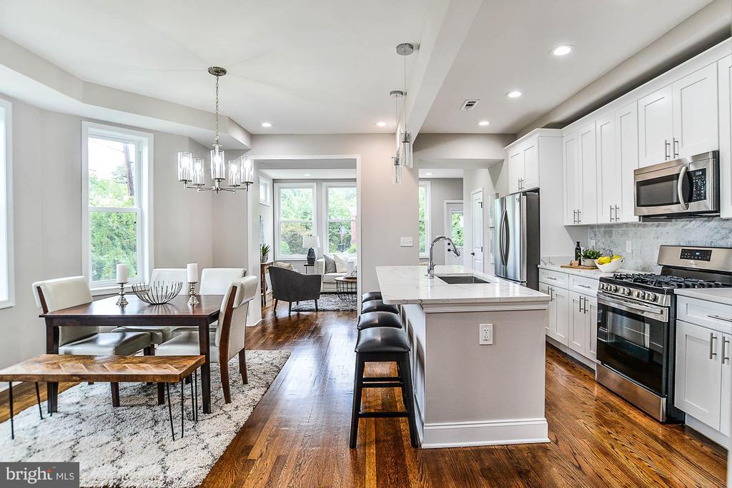 Dining Room/Kitchen 3 - 3600 18TH ST NE, WASHINGTON