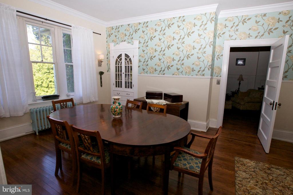 Dining Room - original features - 19312 WALSH FARM LN, BLUEMONT