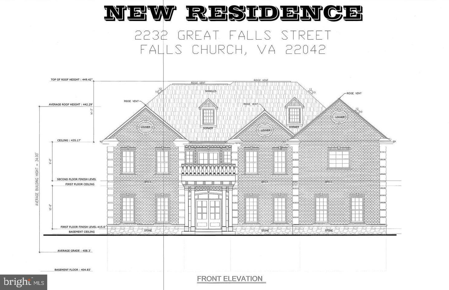 Single Family Homes for Sale at Falls Church, Virginia 22046 United States