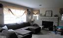 Large living room with Bay window - 1206 LOCKSLEY LN, MOUNT AIRY