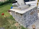 Outdoor kitchen with Viking Cooktops - 3413 SUNNY VIEW DR, ALEXANDRIA
