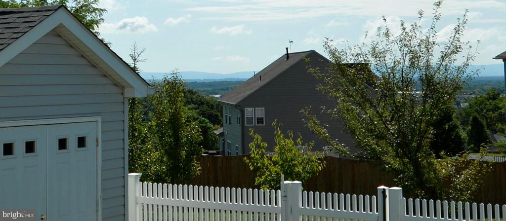 Mountain View from Patio and Back Yard - 136 FORTRESS DR, WINCHESTER