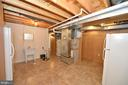 Equipment Room with Lots of Storage Space - 136 FORTRESS DR, WINCHESTER