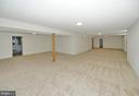 Sprawling Lower Level - 136 FORTRESS DR, WINCHESTER