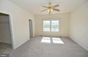 Expansive Master with 2 Walk-in Closets - 136 FORTRESS DR, WINCHESTER