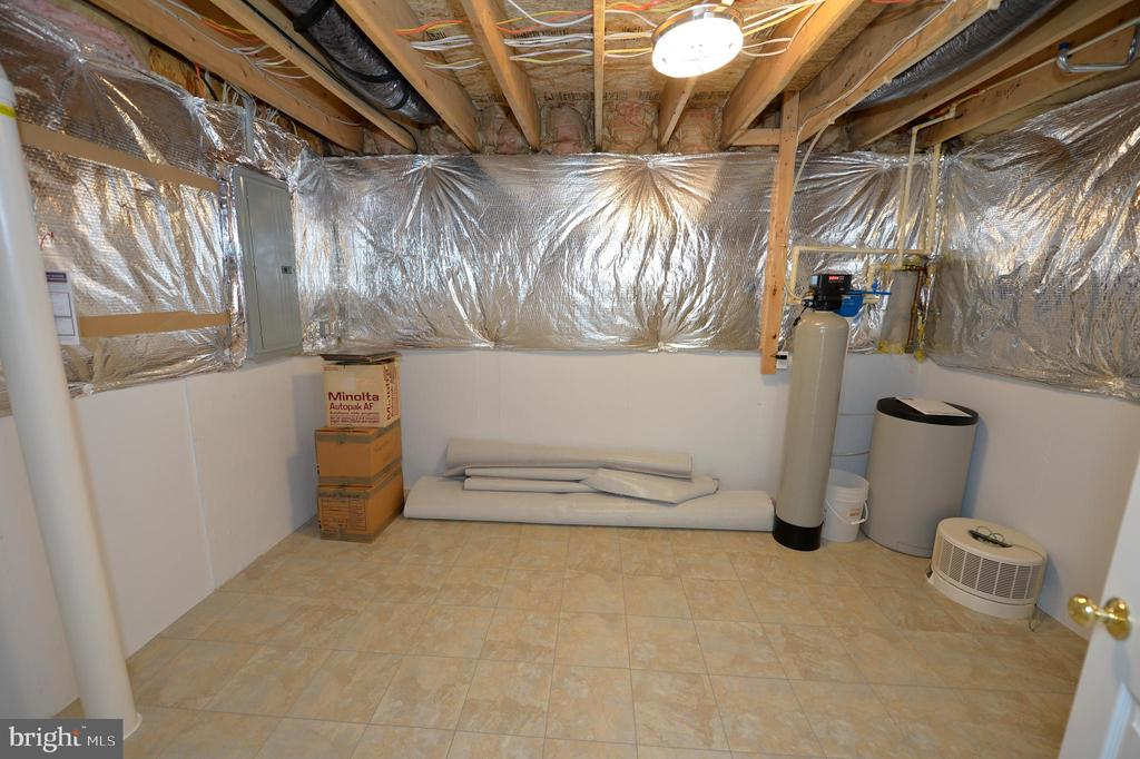 Storage Room with Water Softener System - 136 FORTRESS DR, WINCHESTER