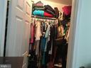 Master Bedroom walk in Closet - 7801 MISTY CT, GAITHERSBURG