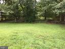 Back yard - 7801 MISTY CT, GAITHERSBURG