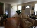 Living and Entrance - 7801 MISTY CT, GAITHERSBURG