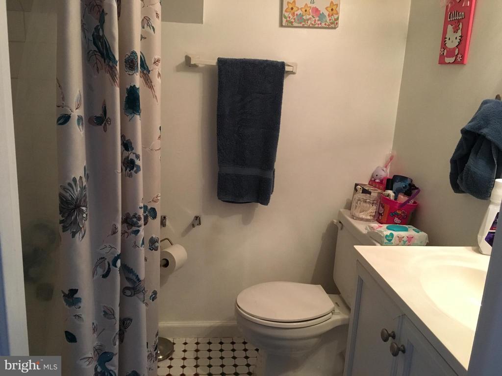 Downstairs bathroom - 7801 MISTY CT, GAITHERSBURG