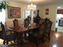 Dining Room - 7801 MISTY CT, GAITHERSBURG