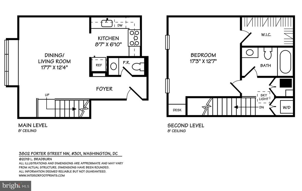 Floor plan - 3802 PORTER ST NW #301, WASHINGTON
