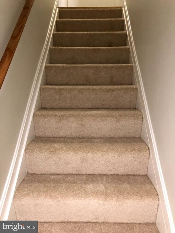 New Carpet on stairs to LL - 5988 POWELLS LANDING RD, BURKE