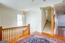 Second story study & Stairs to third floor - 504 LEWIS ST, FREDERICKSBURG