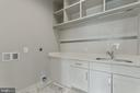 upper level large laundry room - 3222 20TH RD N, ARLINGTON