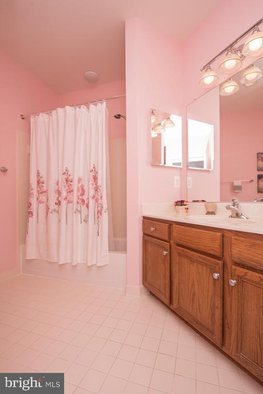 A full bathroom - 23084 RED ADMIRAL PL, BRAMBLETON