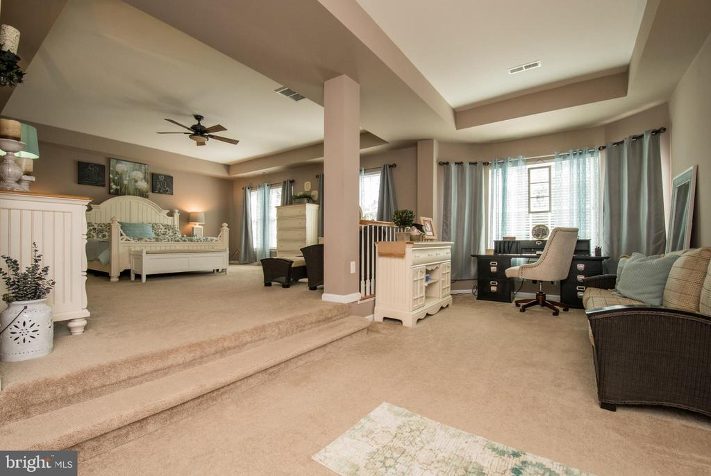 Amazing size master bedroom - 23084 RED ADMIRAL PL, BRAMBLETON