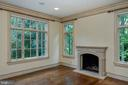 Parlor with gas fireplace - 9998 BLACKBERRY LN, GREAT FALLS