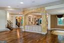 Hardwood floors on main - 9998 BLACKBERRY LN, GREAT FALLS