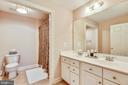 Upper Level 1 Full Bath - 18290 BUCCANEER TER, LEESBURG