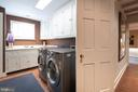 Lower Level Laundry Room - 307 AMELIA ST, FREDERICKSBURG