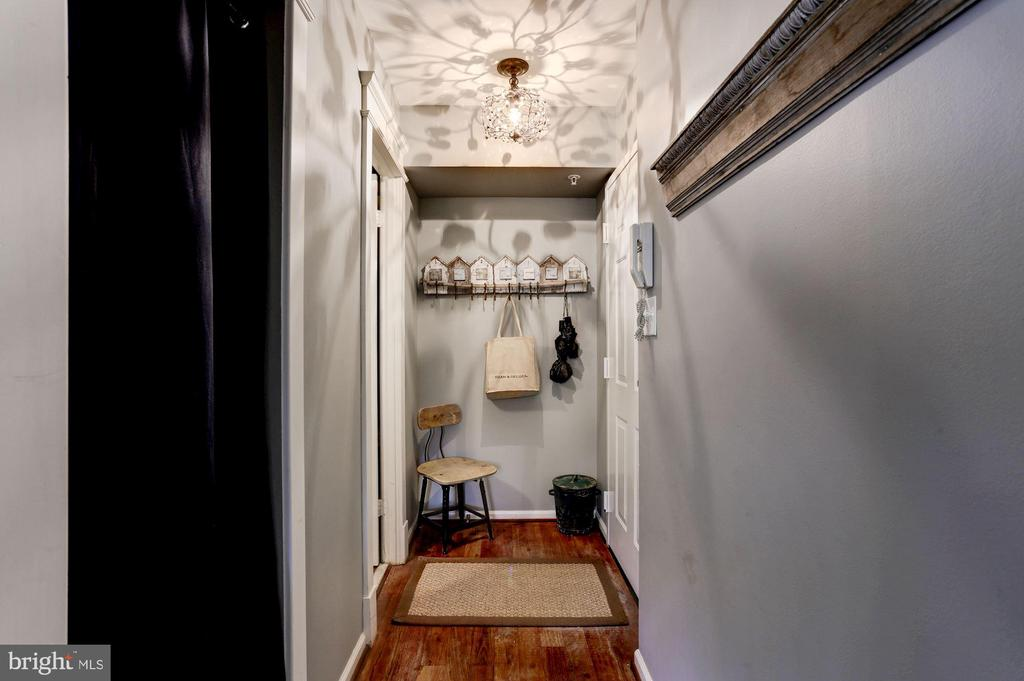 Entry/Foyer hall - 3802 PORTER ST NW #301, WASHINGTON