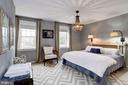 Upstairs - Large bedroom - fits a king sized bed - 3802 PORTER ST NW #301, WASHINGTON