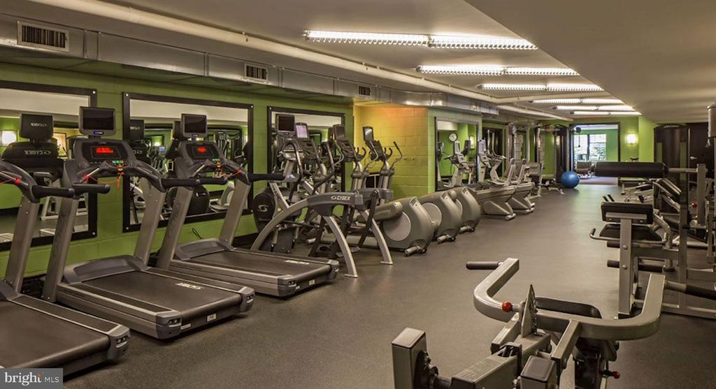 Fitness center - 3802 PORTER ST NW #301, WASHINGTON