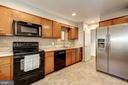 Kitchen with some updated appliances - 2018 HIGHBORO WAY, FALLS CHURCH