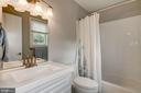 Master bath - renovated - 2018 HIGHBORO WAY, FALLS CHURCH