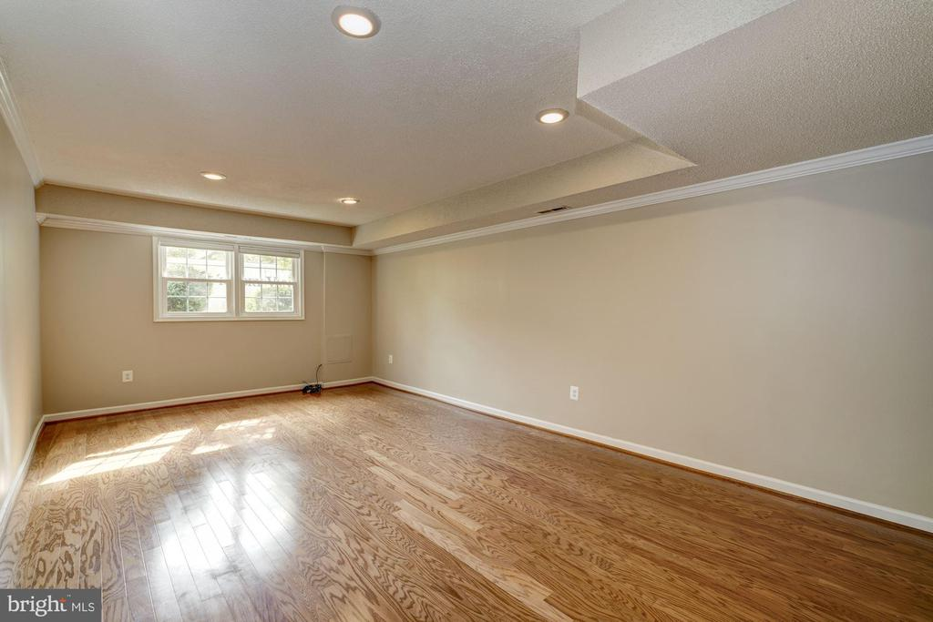 Spacious updated lower level living/rec room - 2018 HIGHBORO WAY, FALLS CHURCH