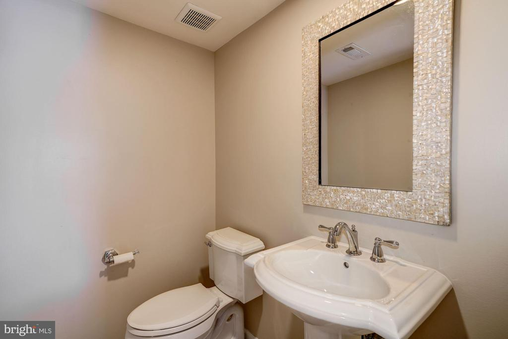 Lower level renovated a bathroom - 2018 HIGHBORO WAY, FALLS CHURCH