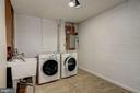 Large laundry room - 2018 HIGHBORO WAY, FALLS CHURCH