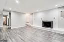 The Family Room Is A Perfect For Gatherings - 5020 LEE ST NE, WASHINGTON
