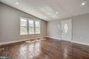 Natural Light Enhances The Living Space - 5020 LEE ST NE, WASHINGTON