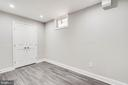 Lower Level Bedroom is Suitable  For Guests - 5020 LEE ST NE, WASHINGTON