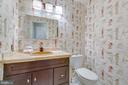 main-level half bath - 478 FOXRIDGE DR SW, LEESBURG