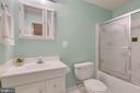 Full bath in basement - 478 FOXRIDGE DR SW, LEESBURG