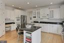 Solid Crisp White Cabinetry & Planning Desk - 22478 PINE TOP CT, ASHBURN