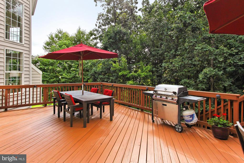 Multi Area Deck offers Easy Entertaining - 22478 PINE TOP CT, ASHBURN