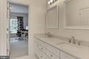 Jack-n-Jill Bath w/NEW Quartz Counters & Mirrors - 22478 PINE TOP CT, ASHBURN
