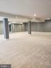 Basement open area - GLENDALE CT, FREDERICKSBURG