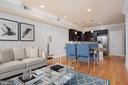 Living / Dining Rooms (Staged) - 2514 17TH ST NW #2, WASHINGTON