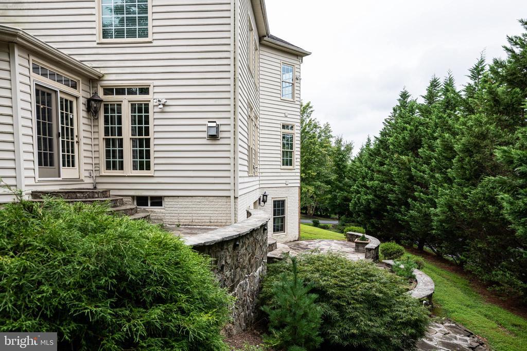 Back yard views trees - 11624 CEDAR CHASE RD, HERNDON