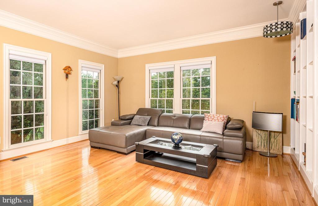 Living room - 11624 CEDAR CHASE RD, HERNDON