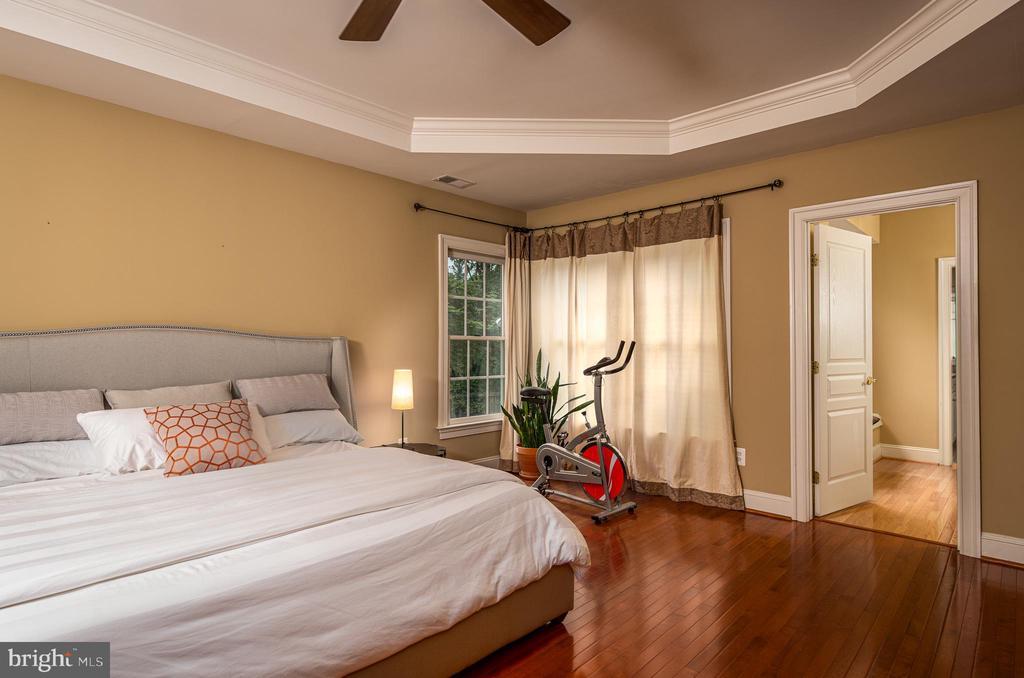 Master bedroom - 11624 CEDAR CHASE RD, HERNDON