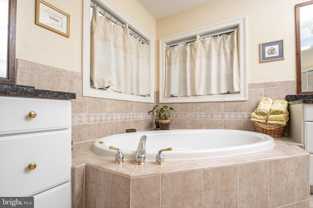 Master bath - 11624 CEDAR CHASE RD, HERNDON