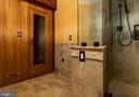 Lower level sauna - 11624 CEDAR CHASE RD, HERNDON