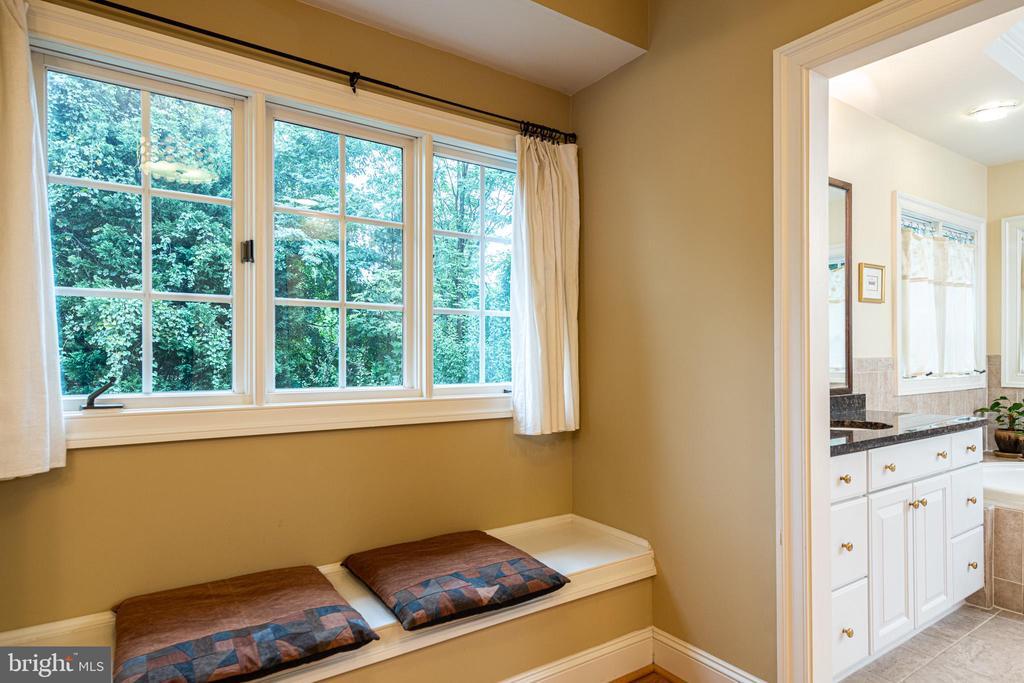 Master  bedroom dressing area - 11624 CEDAR CHASE RD, HERNDON