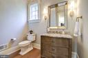 1 of 2 Main Level Powder Rooms - 3200 N ABINGDON ST, ARLINGTON